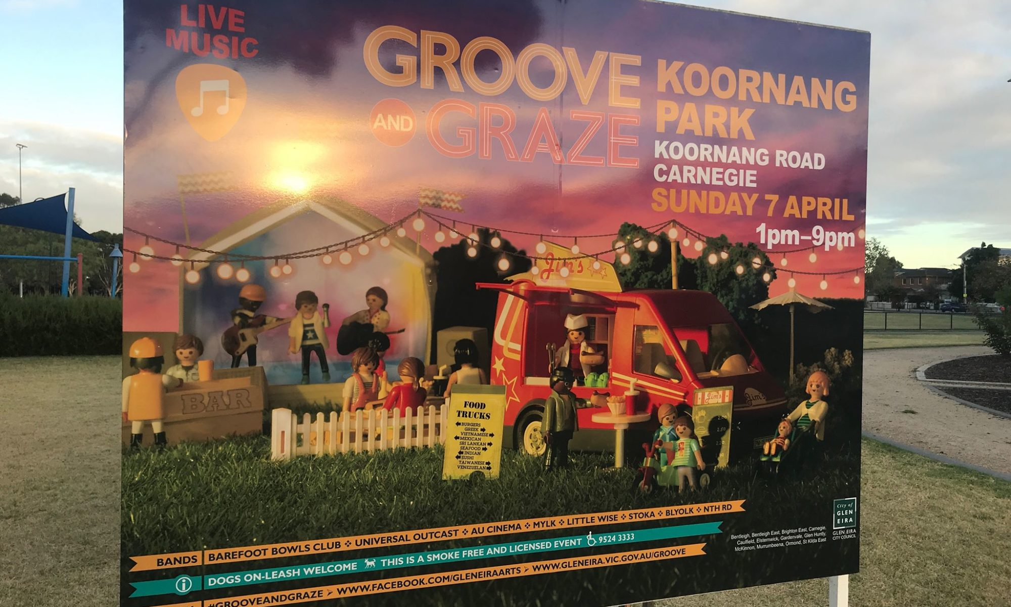 NTH RD band groove and graze glen eira